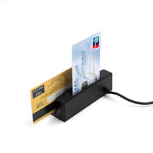 New 2-in-1 USB Credit Card reader Magnetic Read Only + EMV IC Chip Card Reader/ Writer(China (Mainland))