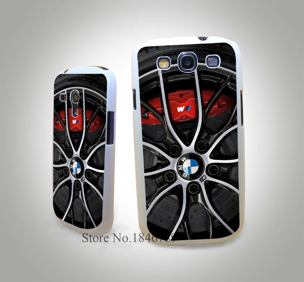 Car for Bmw White Hard Case Cover for Samsung Galaxy S3 S3 Mini S4 s4 Mini S5 S5 Mini S6 s6 Edge(China (Mainland))