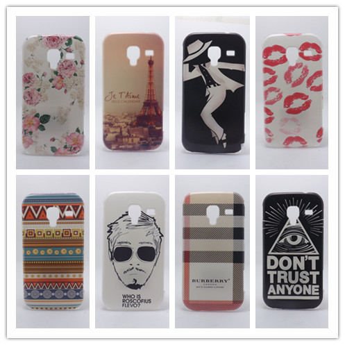 New 2014 Multi species Painting Hard Plastic Phone Case For Samsung Galaxy Ace 2 I8160 Protective Cover +Free Screen Protector(China (Mainland))
