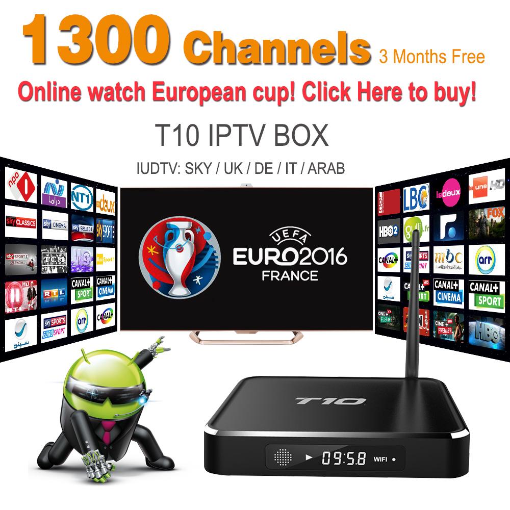 Olympic Games Android 5.1 TV Box Amlogic S805 1G/8G KODI IPTV Box 1300 WiFi HDMI Smart TV Box T10 LED digital Media Player(China (Mainland))