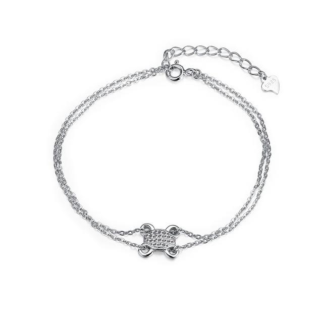 Новый горячая распродажа оригинальный стерлингового серебра - серебристо-ювелирные прекрасная форма черепаха шарм браслеты , совместимой с DIY ювелирных