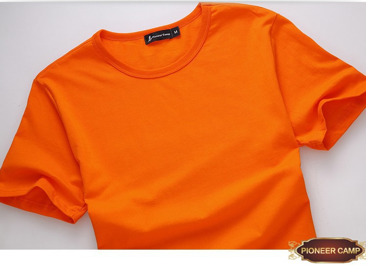 HTB1aNjCLXXXXXXzXpXXq6xXFXXX5 - Pioneer Camp t shirt men brand clothing summer solid t-shirt male casual tshirt fashion mens short sleeve plus size 4XL