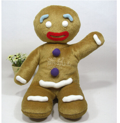 Biscuits limited shrek shrek person gingerbread man christmas gift plush toys in movies tv - Biscuit shrek ...