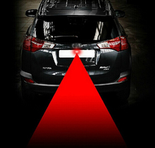 Buy Newest Anti Collision Rear-end Car Laser Tail Fog Light Auto Brake Parking Lamp Rearing Warning Project Light AG Car styling for $1.43 in AliExpress store