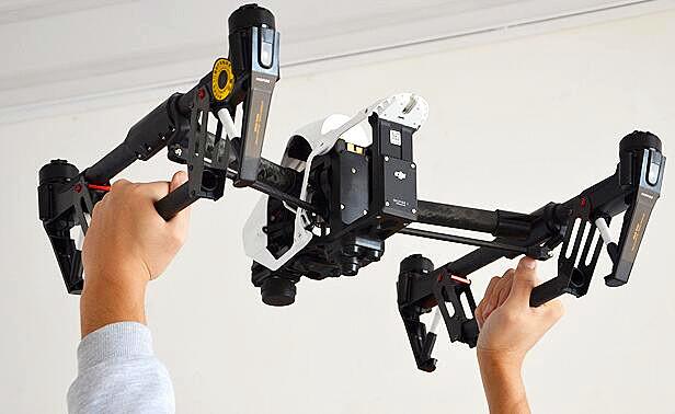 DJI inspire 1 / pro fielder Auxiliary Landing Human Machine model aircraft accessories destructive installation