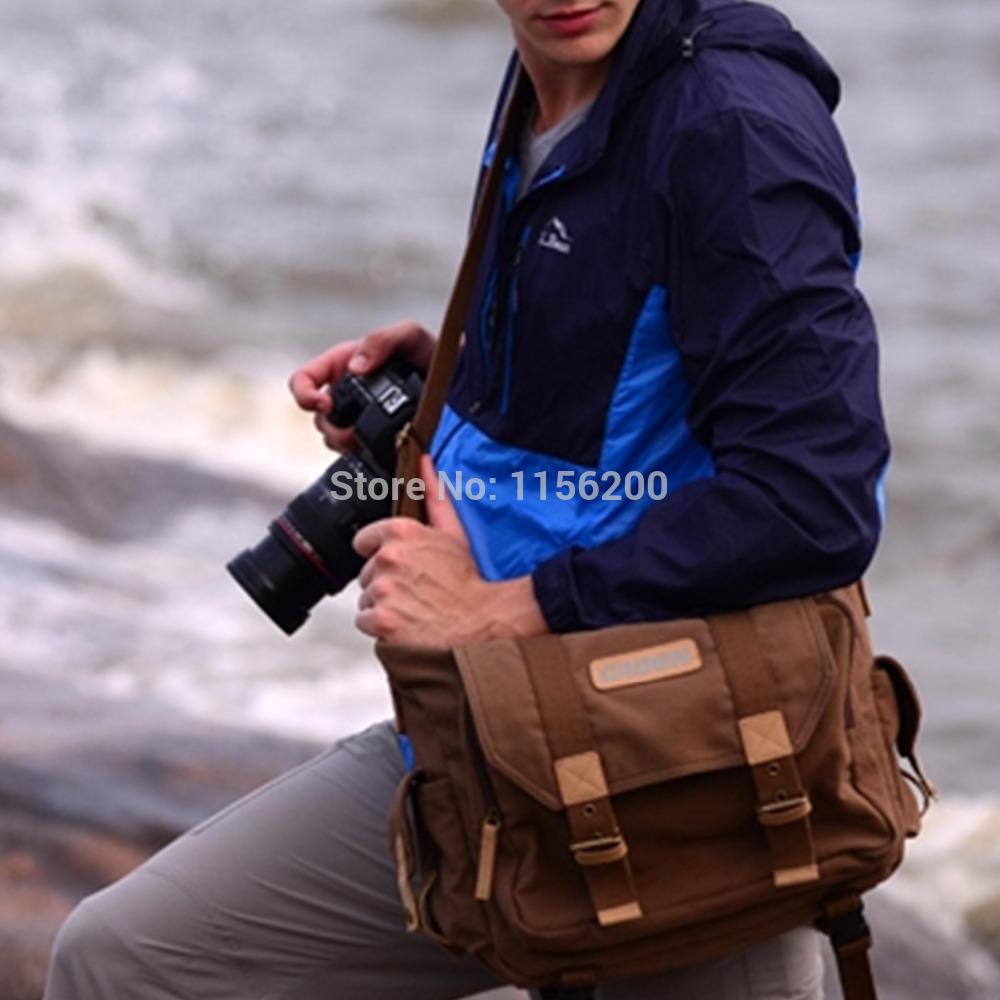 SLR DSLR Digital Camera Camera Bag Gadget Canvas Organizer Bag(China (Mainland))