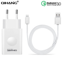 Buy QC 3.0 USB Charger Wall Quick Charger 1 ports EU US Plug iPhone Samsung galaxy S7edge Huawei p9 Xiaomi HTC LG USB Charger for $4.89 in AliExpress store