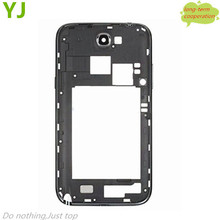Free shipping Original New Grey White Color N7100 i317 Middle Frame Housing Repair For Samsung Galaxy Note 2 N7100(China (Mainland))