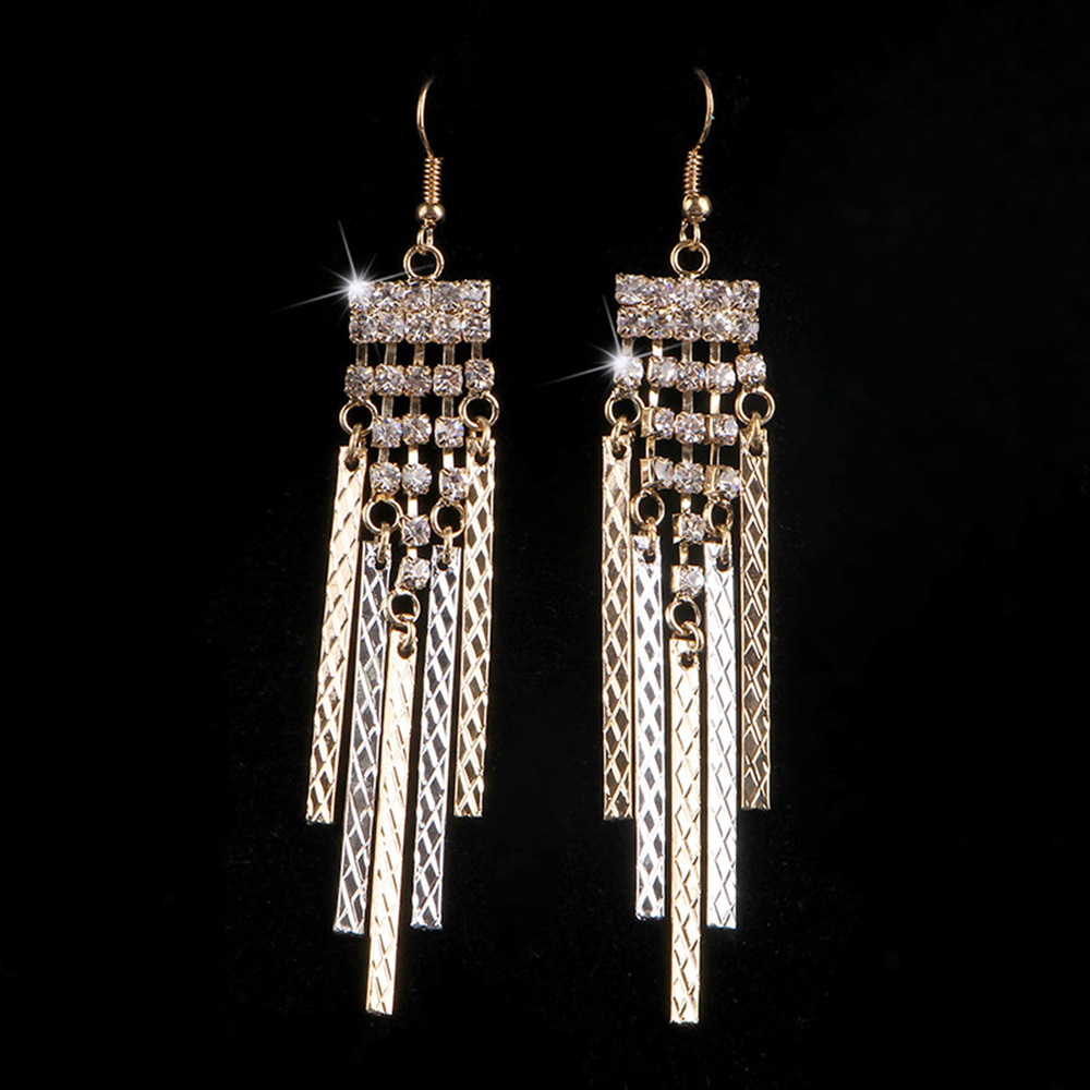 Online Get Cheap Gold Rectangle Earrings Aliexpress – Cheap Chandelier Earrings