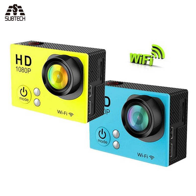 Action sports camera DV Waterproof Cameras Wifi Sports Camera With Wifi Full HD 1080P Sport CAM