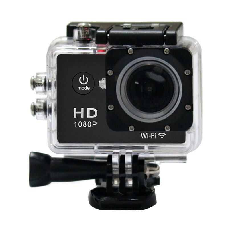 W9E 1080P HD Sports Wifi Action Digital Video Camera 60fps 2.0inch LCD 140D Wide-angle Riding Go Waterproof Pro cameras best(China (Mainland))