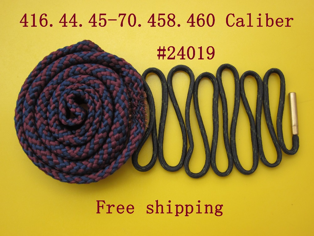 Free shipping Cleaning 416 44 45 70 458 460 Cal 24019 4 piece Rifle Snake Sling