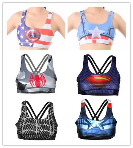 under armour superhero sports bra