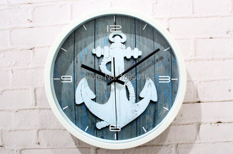 Часы якорь настенные своими руками