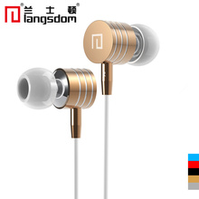 Original Earphone 3.5Mm Jack Mp3 Earphones Headset Metal In-Ear Headphones Stereo Earbuds For Xiaomi HTC Samsung With MIC Remote