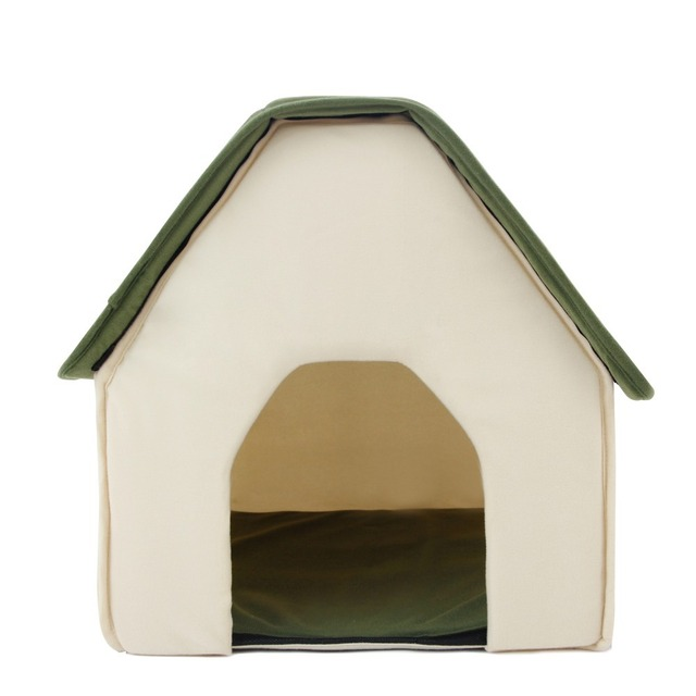 Soft Dog House + Blanket