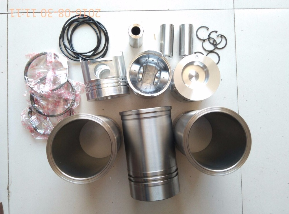JINMA tractor with engine SL3105ABT2S, the engine piston group: piston, pin, piston rings, liners, water sealings and circlips(China (Mainland))
