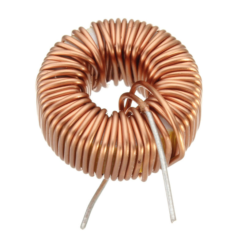 Newest !! Top Selling Special Offer High Standard 5Pcs 220uH 3A Brass Tone Toroid Core Inductor Coil Wire Wind Wound for DIY(China (Mainland))