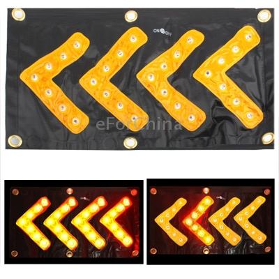 Желтый 36 из светодиодов автомобиля безопасности движения направление сигнала вход