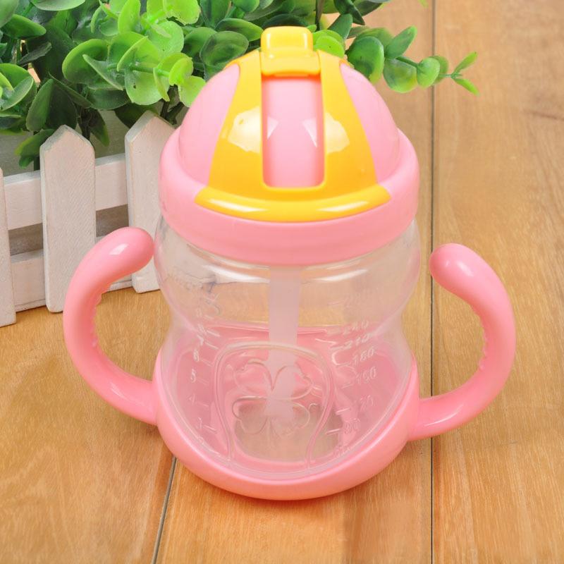 Детские дети соломинкой бутылка кубок кормление bpa бесплатно 280 мл бесплатная доставка