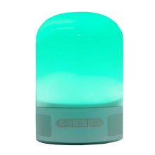 Luxury mini LED night light rechargeable Fantasy bluetooth lamp speaker stereo music bulb(China (Mainland))