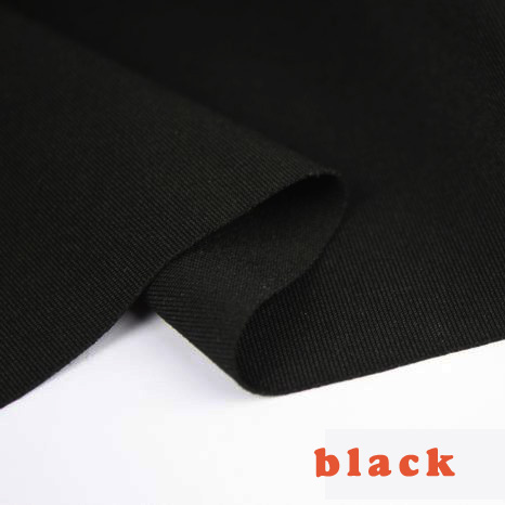 Black stretch spandex Fabric, knitted fabric,Jersey Fabric, Skirt, dress. Sold by the yard, Free shipping.(China (Mainland))