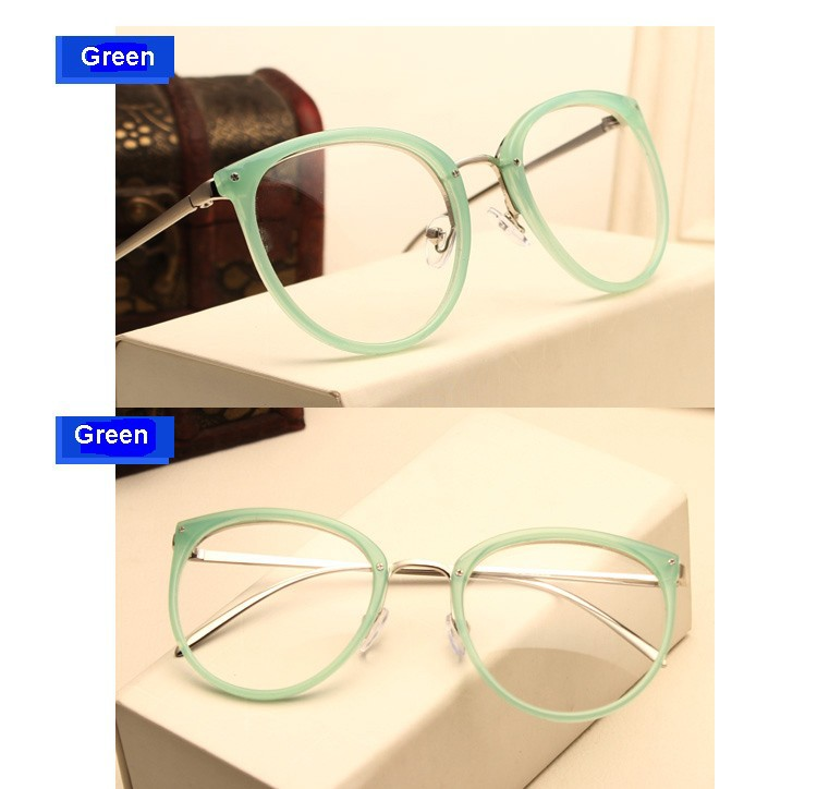 Vintage Decoration Optical Eyeglasses Frame for the myopia metal Spectacles oculos de gra 12