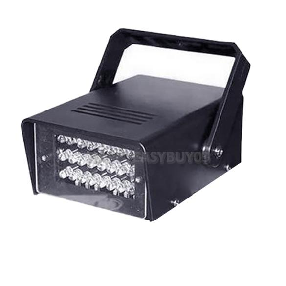 H3 Operated DJ Disco Party Stage Lights Lamp  24 LED Mini Strobe Light Effects Stage Light(China (Mainland))
