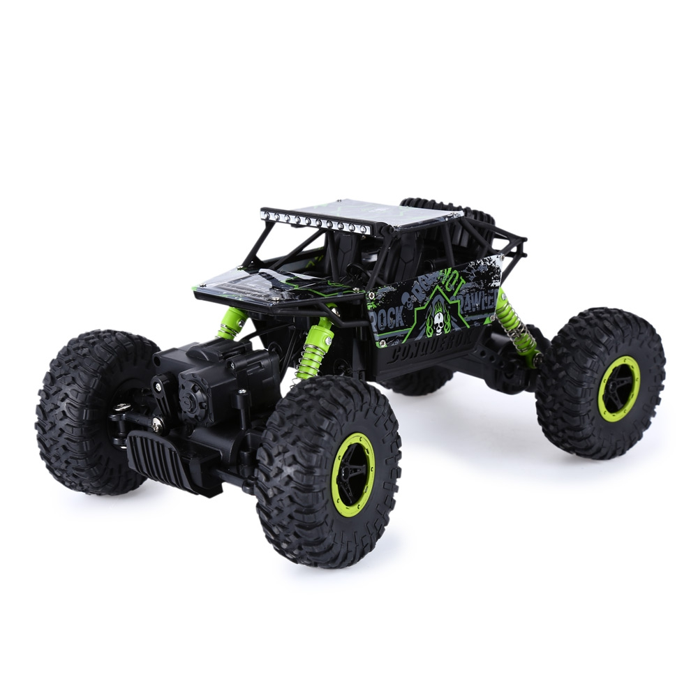 2016 New RC Cars 2.4Ghz 1:18 Scale Remote Control Rock Crawler 4 Wheel Drive Off-road Race Car Vehicle Toys Trunk Children Gifts(China (Mainland))