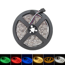 5M/Roll 300 LED SMD 5050 LED Strip 60LEDs/ m 12V Flexible Light White Warm White Red Green Blue Yellow RGB Home Decoration Light(China (Mainland))