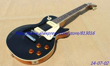 Buy New Arrival LP standard 50's black top ELECTRIC GUITAR one piece body and neck ! P90 pickups,free shipping! for $315.00 in AliExpress store