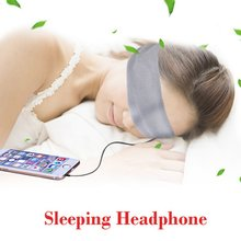 For iPhone For Samsung Washable Anti-noise Sports Running Sleeping Earphones Bundle Music Headband Sleep Mobile Phone Headphone(China (Mainland))