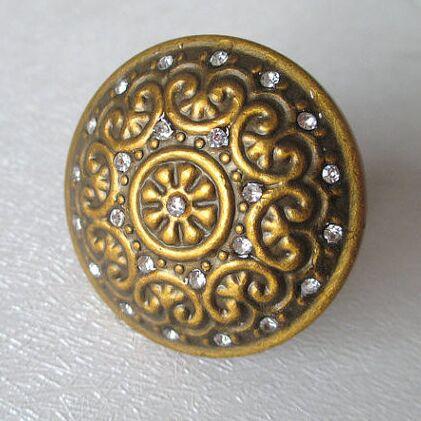 Antique Brass Crystal Pulls Glass Dresser Drawer Knobs Handles Bronze Kitchen Cabinet Decorative Knobs Vintage furniture knobs(China (Mainland))