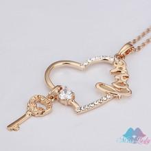 silver key necklace promotion