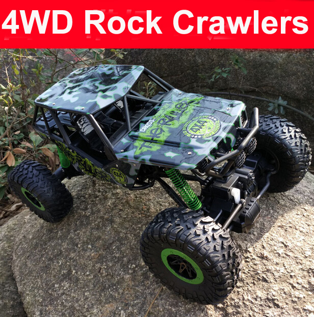 2016 new RC Car 2.4G Four-wheel Drive Rock Crawlers Driving Car Remote Control Car Model Off-Road Vehicle Toy Rally Car(China (Mainland))