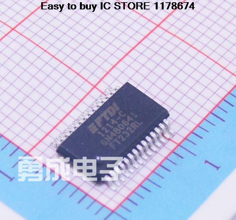 15PCSFT232RL chip SMD bridge USB to UART SOP-28 brand new(China (Mainland))