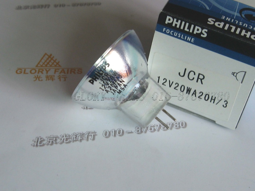 Philips JCR 12V20W A20H/3 Japan lamp,fiber optic microscope,JCR 12V20WA20H/3,JCR12V20WA20H/3,12V 20W halogen bulb(China (Mainland))