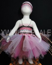 free shipping(36pcs/lot) breathable baby dress 2 layers tulle tutu dress(China (Mainland))