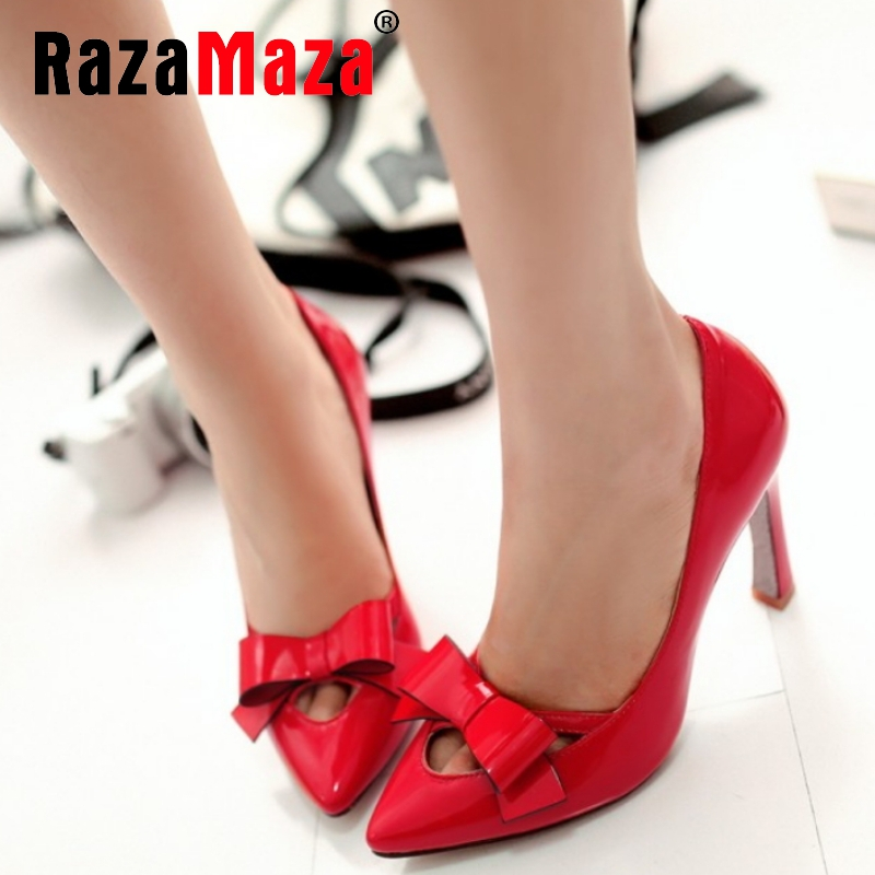 women stiletto high heel shoes pointed to sexy bridal lady quality footwear fashion heeled pumps heels shoes size 32-43 P17620<br><br>Aliexpress