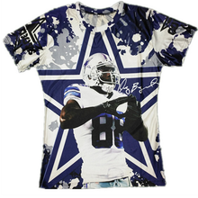 So Cool!!!Dallas Football 88 Star Funny 3D Teeshirts Dez Bryant Printed T Shirts Men/women Graphic Fashion Tops O-neck T-shirts(China (Mainland))