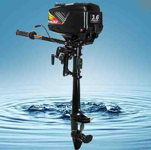2015 new design best quality 2 stroke 3 6hp hangkai for Best 8 hp outboard motor