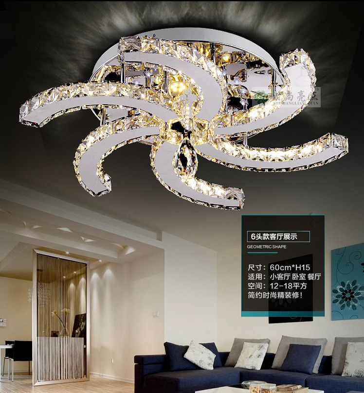 2015 New Modern Ceiling Fan Design Led Lustre Ceiling