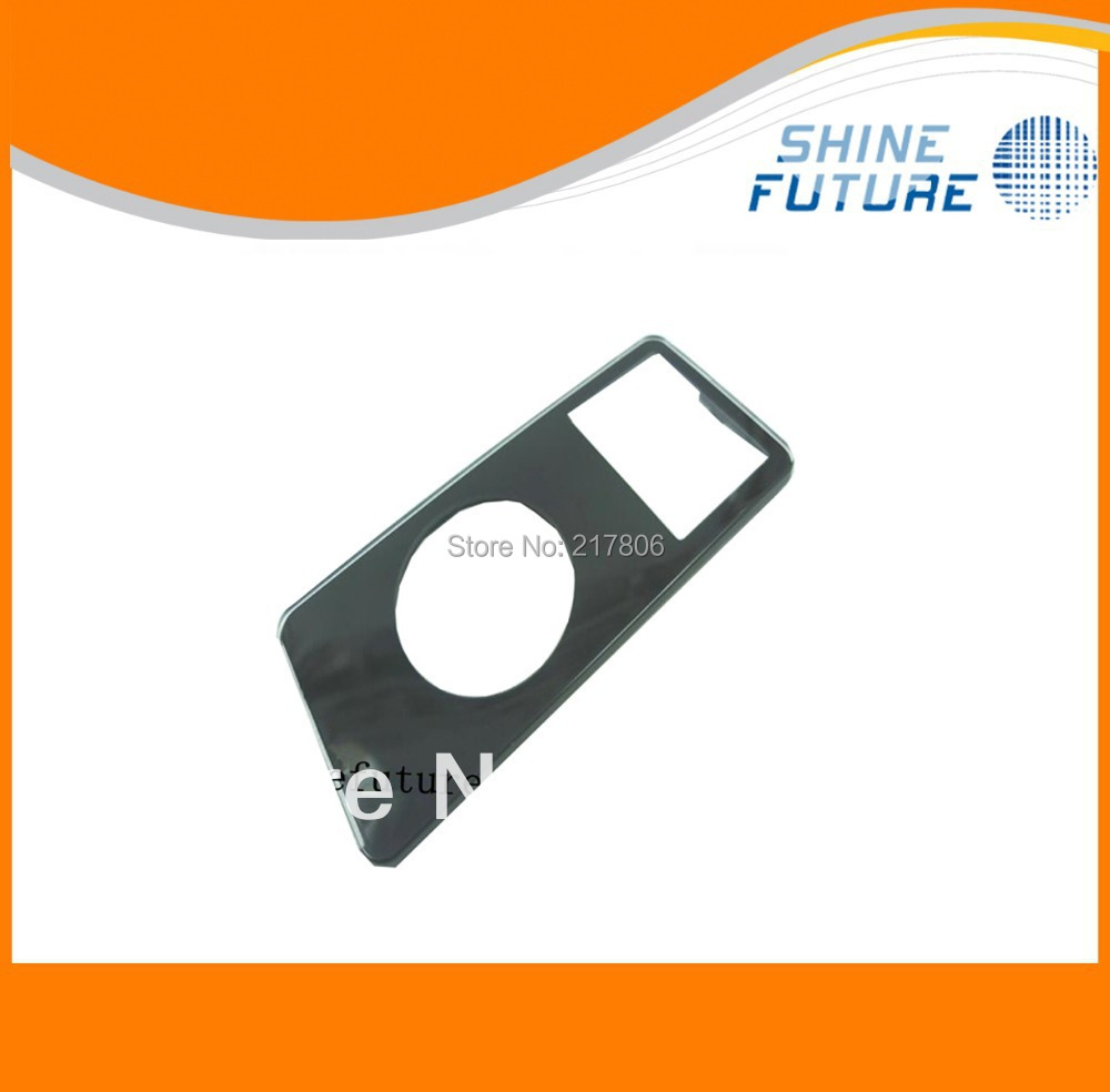 Black Front Cover Face Plate Panel Housing for iPod Nano 1st Gen 2GB 4GB 8GB(China (Mainland))