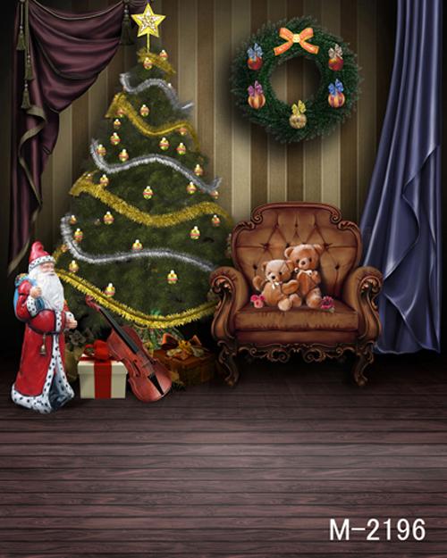 200CM * 300CM new2014 vinyl photography backdrops photo studio photographic background photo Christmas background m-2196<br><br>Aliexpress