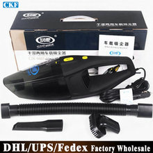Free DHL Fedex 50pcs/lot Y6601 Car Vacuum Cleaner Super Suction Wet And Dry Dual Use  Car Vacuum Cleaner(China (Mainland))