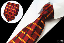 Fashion Men Tie Hand Made 100% Silk Jacquard Woven Ties For Men 7cm Striped Neckties Man's Neck Tie For Wedding Business