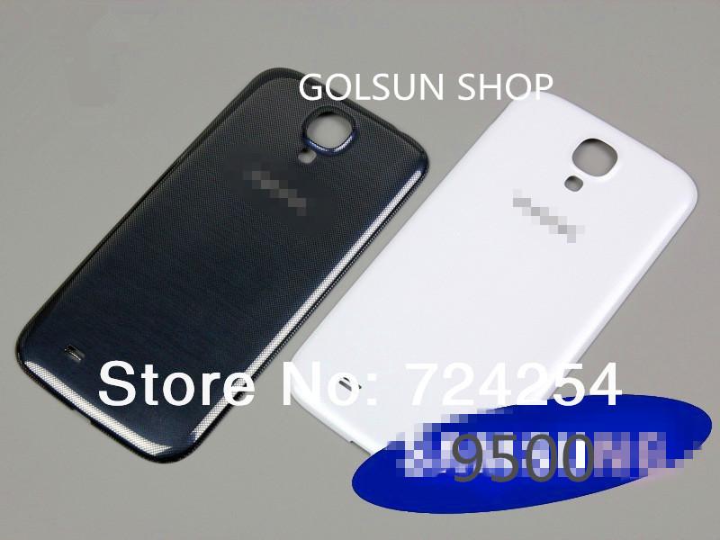replacement galaxy s4 battery door samsung back housing gt-i9500 cover original new - lan,shop store