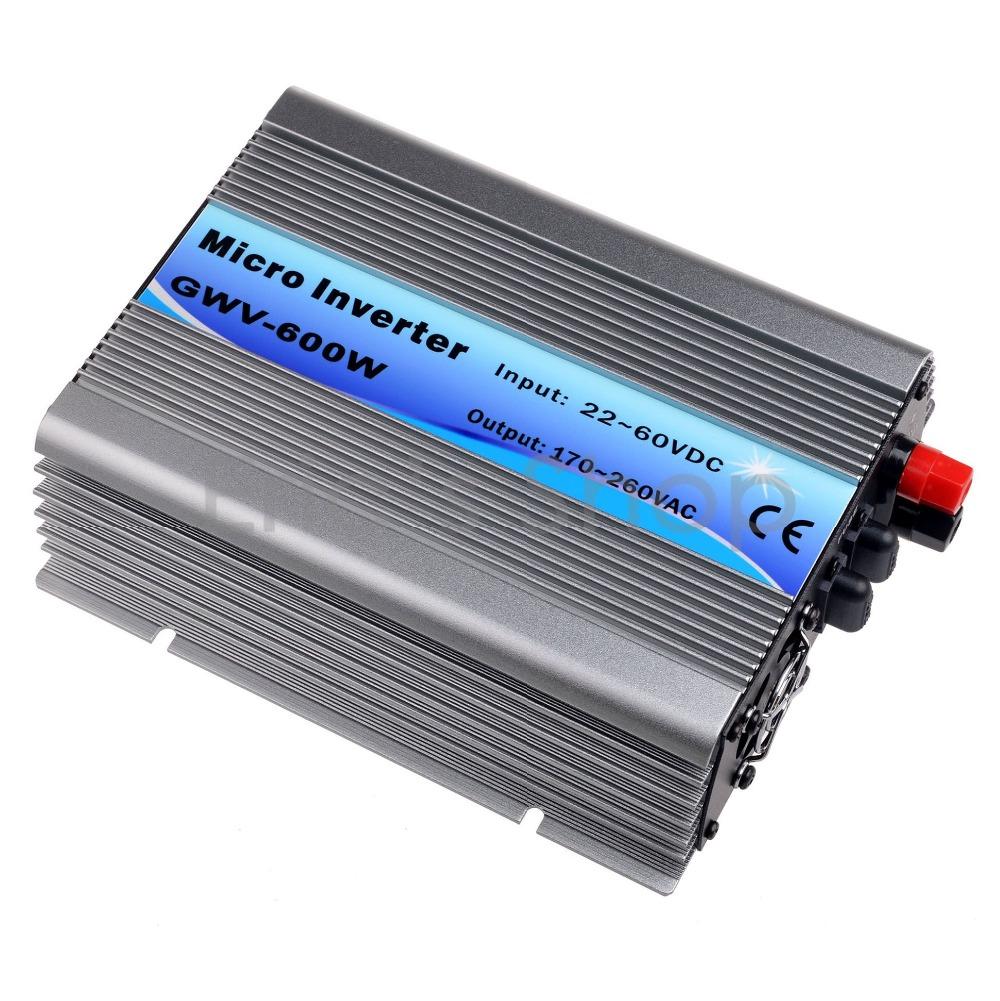 500W Grid Tie Inverter DC22V-60V to AC230V(190-260VAC) Pure Sine Wave Inverter 500W 50Hz/60Hz(Auto Control) CE DC to AC Inverter(China (Mainland))