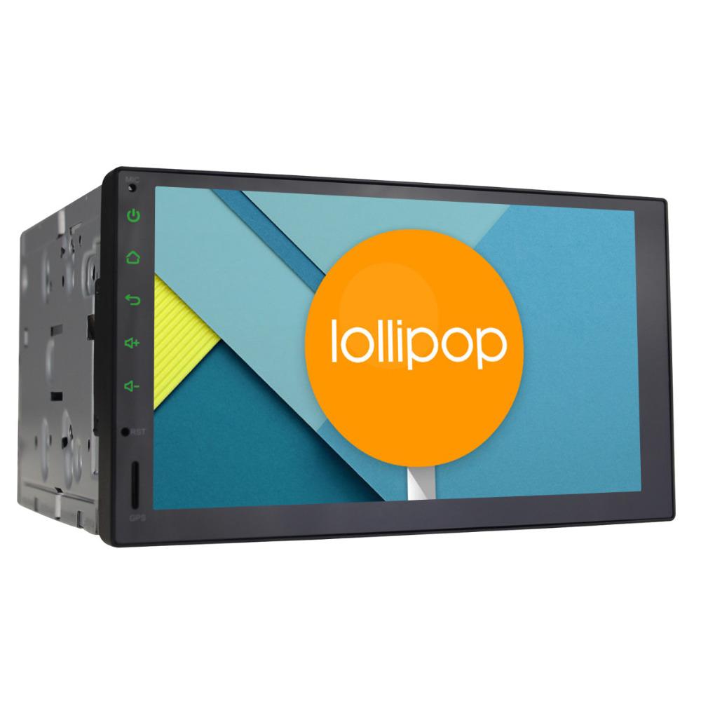 Quad Core Android 5.1.1 Lollipop Universal Car Radio Audio Stereo 2 Din 7 Inch 1024*600 GPS Navigation Head Unit(China (Mainland))