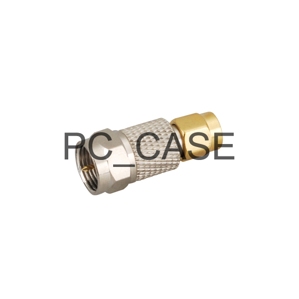 RF F-SMA adapter electrical wire terminal connector F male to SMA male straight for wireless antenna(China (Mainland))